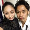 フィギュアスケーターの安藤美姫が高橋大輔とのツーショット...