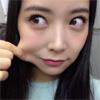 NMB48の白間美瑠、ほっぺをつまんでぷにぷに写真を公開