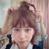 女優の本田翼、ヘアアレンジでお団子にした髪型を公開