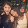 モデルの佐田真由美がマギーとのツーショット写真を公開