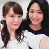 女優の貫地谷しほりが川村ゆきえとのツーショット写真を公開