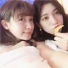 モデルの藤井サチ、三吉彩花とのツーショット写真を公開