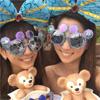 女優の桐谷美玲が河北麻友子とディズニーでのツーショットを公開