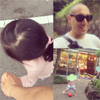 市川海老蔵、長女との散歩中の写真を公開