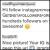 instagramにスパムコメント急増!対処方法はコメント削除と通報