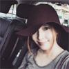 歌手のBoA、車内での自撮り写真を公開