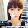 モデルの鈴木えみ、バーチャルメイク体験の動画を公開
