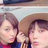 モデルの大政絢、本田翼とのツーショット写真を公開