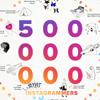 instagramの月間利用者数が全世界で5億人を突破