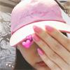 モデルの武田玲奈、ピンクのキャップとネイルの自撮り写真公開