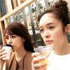 女優の貫地谷しほり、佐藤めぐみとのツーショット写真を公開