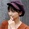 元AKB48でタレントの篠田麻里子、期間限定の黒髪写真を公開