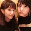 モデルの佐藤ありさ、桐谷美玲とのツーショット写真を公開