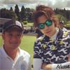 俳優の三浦翔平、ゴルフコンペでのファッションがイケメンと話題