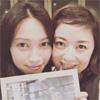 女優の大政絢、高岡早紀とのツーショット写真を公開