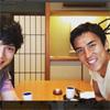 俳優の水嶋ヒロ、長谷部誠とランチ時のツーショット写真を公開