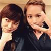 元AKB48で女優の前田敦子、指原莉乃とのツーショット公開