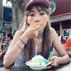女優の仲里依紗、かき氷を食べている時の写真を公開