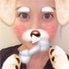 タレントの橋本マナミ、顔加工アプリでワンちゃんに変身した...