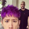 ワンオクTaka、髪色を紫にした自撮り写真公開で話題に