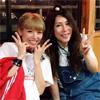 タレントの若槻千夏、KABA.ちゃんと屋形船でのツーショット公開