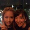 元AKB48で女優の大島優子が前田敦子とのツーショットでファン...