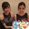 モデルの佐野ひなこ、板野友美の誕生日を桃でお祝い
