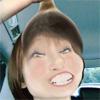 【閲覧注意】タレントの篠田麻里子のストッキングを被った姿...