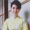 タレントの橋本マナミ、夏を意識した清楚な浴衣姿で収録