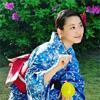 タレントの松井玲奈、雑誌の撮影で着た浴衣姿が「美人」