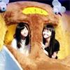 松井愛莉がジブリの大博覧会で猫バスに乗った!