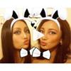 菜々緒、里海と顔加工アプリの動画でキスする姿にファン興奮