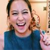 女優の河北麻友子、おしゃれランチに笑顔で「あーん」