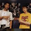 EXILE関口メンディー、佐藤大樹と沖縄でハイロー舞台挨拶写真