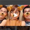 近藤千尋、顔加工アプリでクマに変身した動画が可愛い