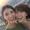大島優子、テレビ番組「タビフク」で秋元才加と大阪を満喫