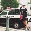 佐々木希、婦警姿が可愛すぎる