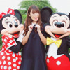 深田恭子、ミッキーとミニーとのスリーショット写真を公開