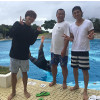 三浦翔平、TKO木下隆行と山田親太朗との旅行写真を公開