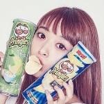 近藤千尋、缶を使って小顔の方法を公開