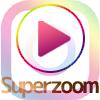 instagramストーリーで動画が拡大していくSuperzoomの使い方